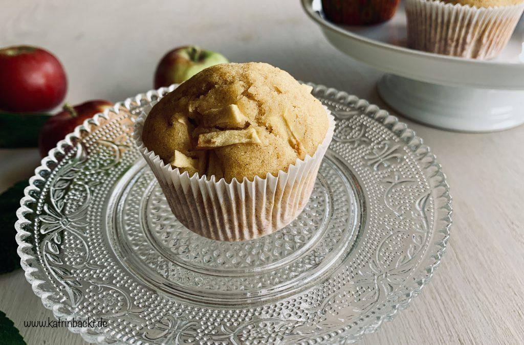 Apfel-Zimt Muffins, glutenfrei